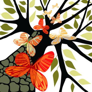 368x368 Tree Branch Vector Free Vector Download (5,768 Free Vector)