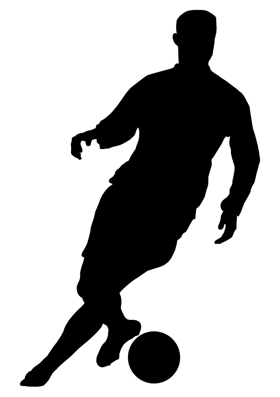 2114x3000 Soccer Football Players Silhouettes Boys Room