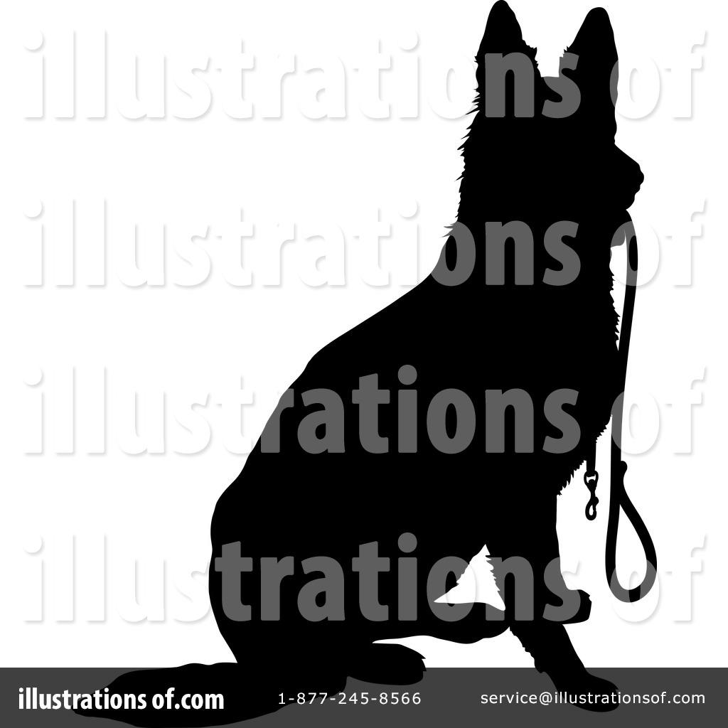1024x1024 German Shepherd Clipart