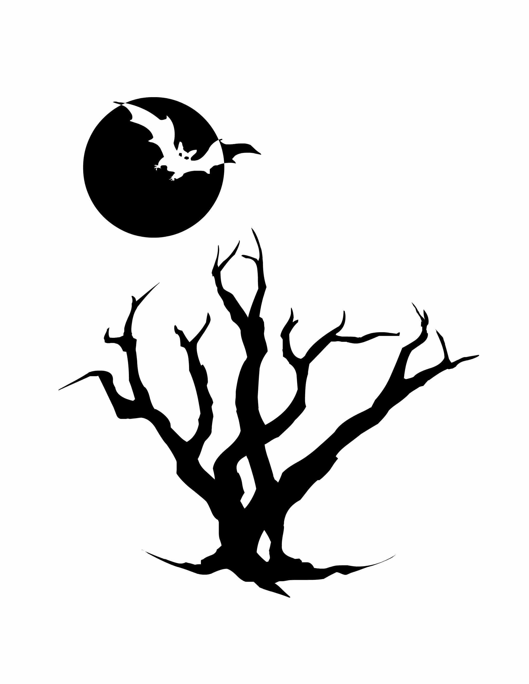 2040x2640 Halloween Template Lovely Printable Halloween Silhouettes
