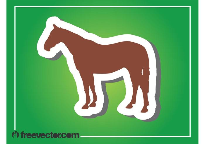 700x490 Horse Silhouette Graphics