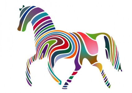 425x300 Horse Clip Art On Horse Silhouette Free