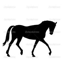 225x225 Horse Stencil For Pallet Board Sign Grad Cap Ideas