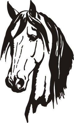 239x398 Horse Silhouette