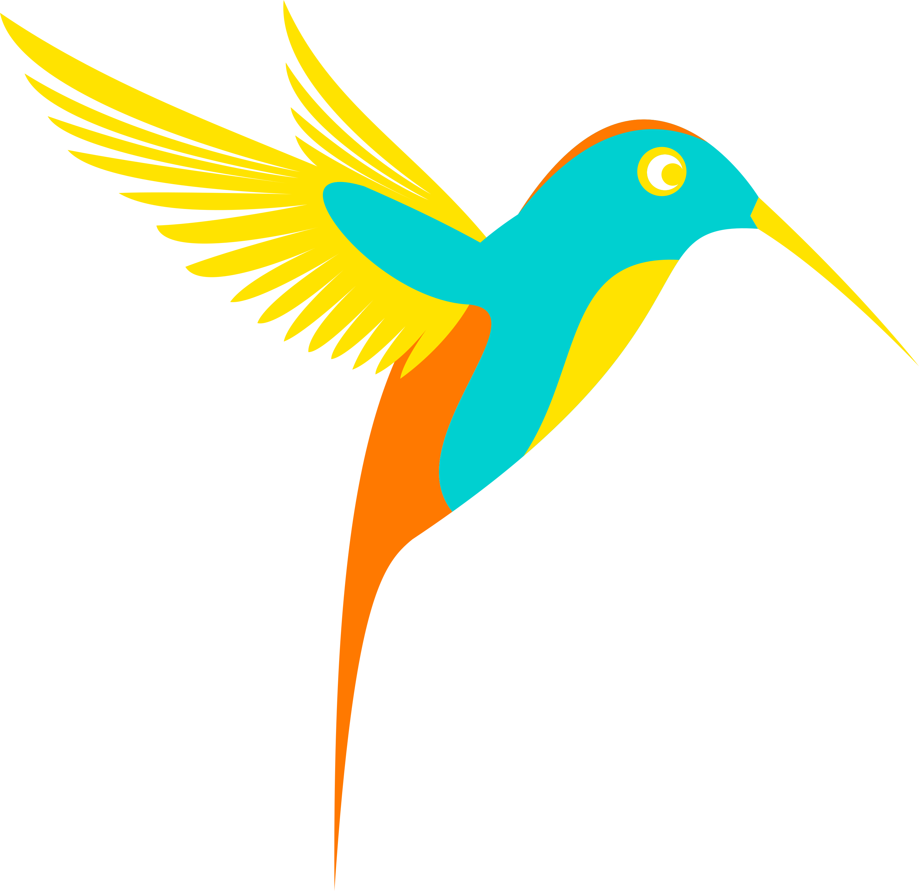 3000x2908 Hummingbird Clipart Free Download Best On Lemonize