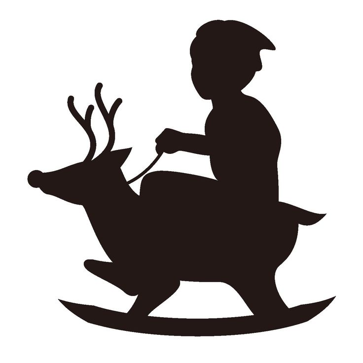 Free Nativity Clipart Silhouette