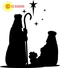 236x268 Nativity Silhouette Free Nativity Clipart Clip Art Graphic Image