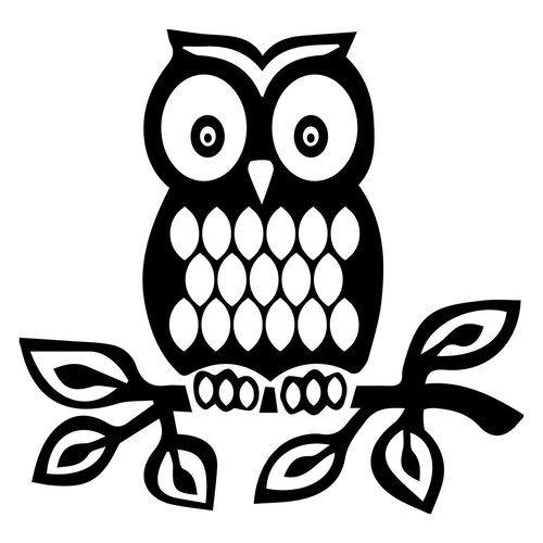 500x500 Free Owl Svg Cut File Silhouette Owl, Filing