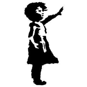 300x300 Little Girl Silhouette Clipart, Cliparts Of Little Girl Silhouette