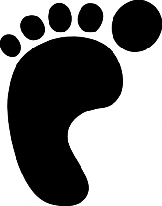 334x425 Benji Baby Black Left Right Outline Symbol Hand People Silhouette