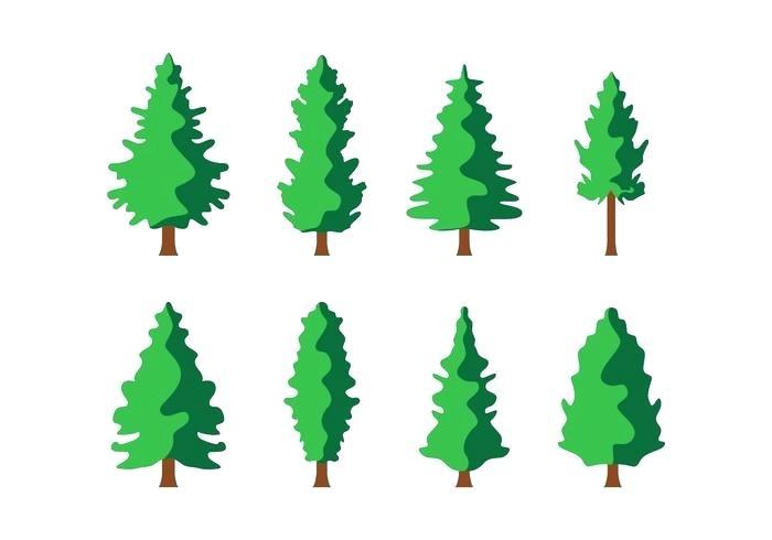 700x490 Minimalist Pine Tree Free Pine Trees Vector Minimalist Pine Tree