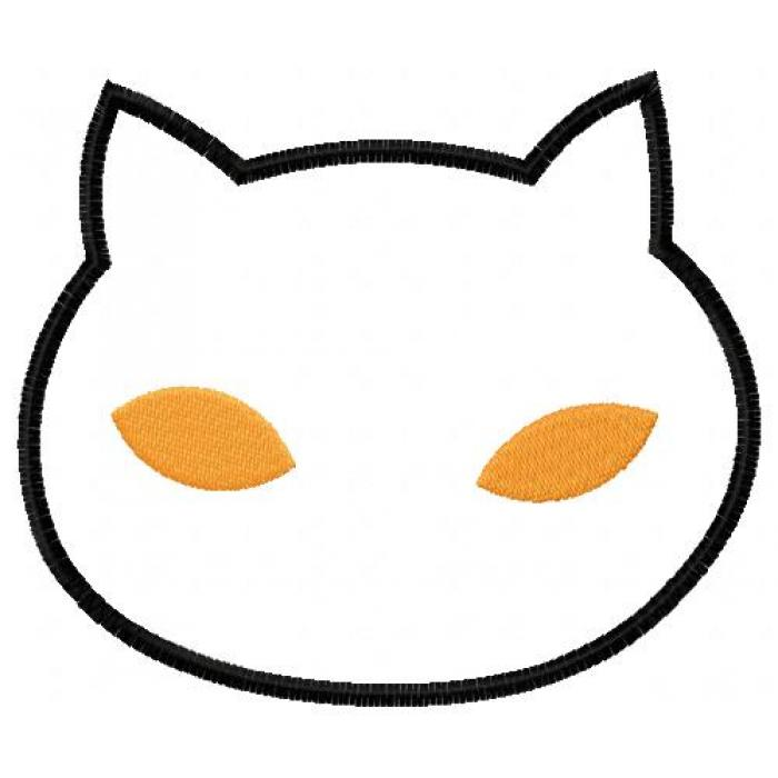 700x700 Free Cat Face Silhouette, Hanslodge Clip Art Collection