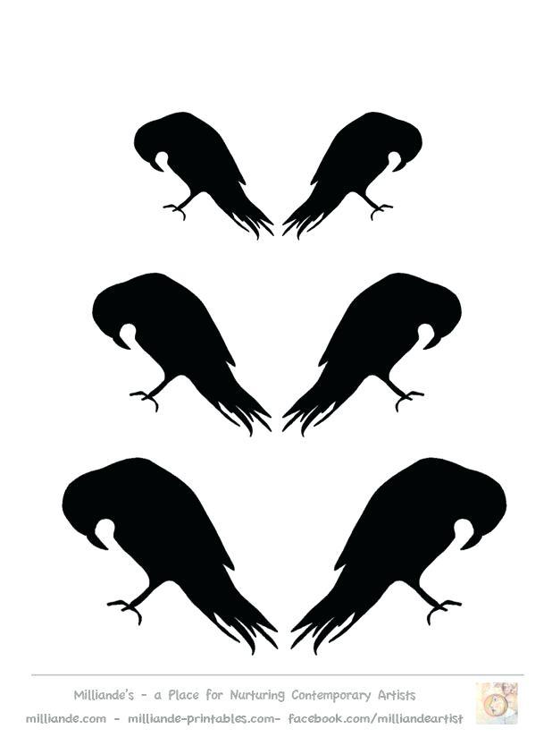 618x824 Bird Silhouette Stencils Clip Art Library Bird Silhouette Stencils