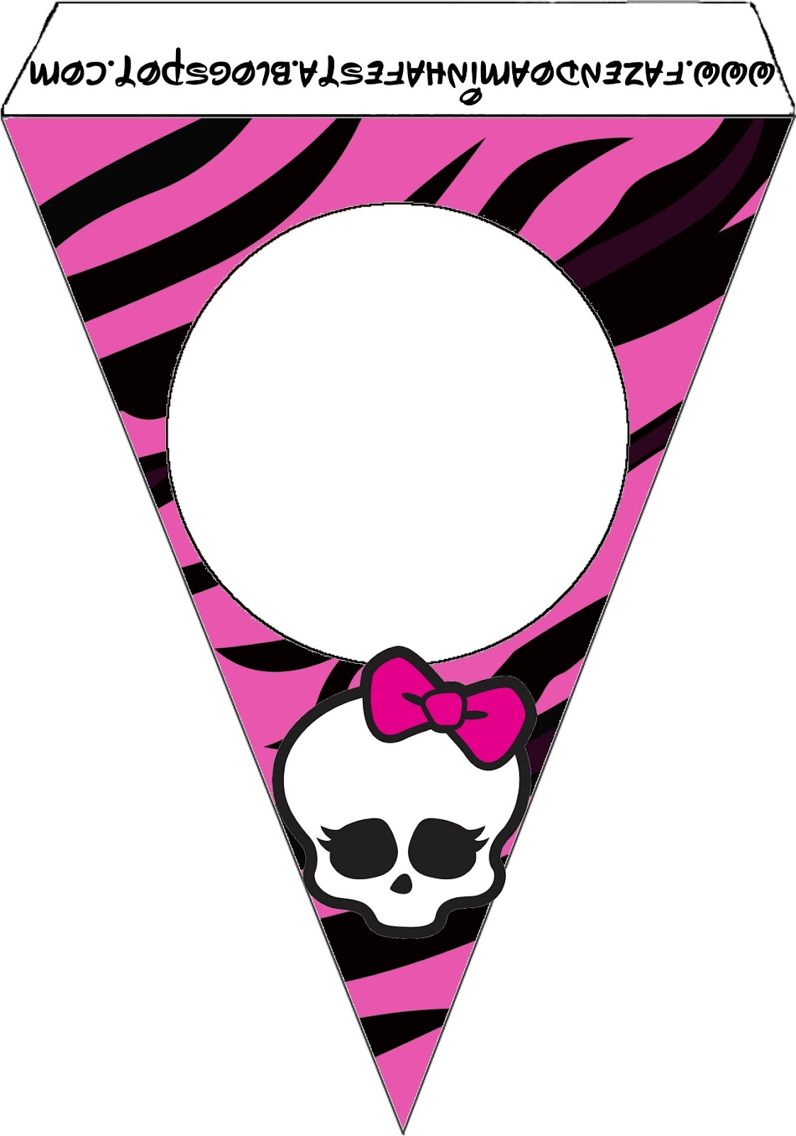 1122x1600 Monster High Party Free Printables. Oh My Fiesta! In English