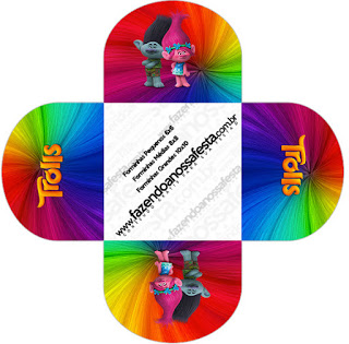320x315 Trolls Free Printable Boxes. Oh My Fiesta! In English