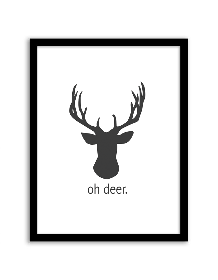 picture relating to Deer Silhouette Printable known as Absolutely free Printable Deer Silhouette at  Totally free for