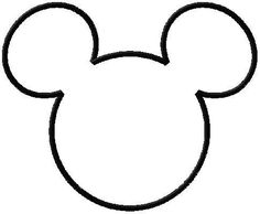 236x194 Disney#39s Minnie and Mickey Mouse Silhouettes Templates Stencil