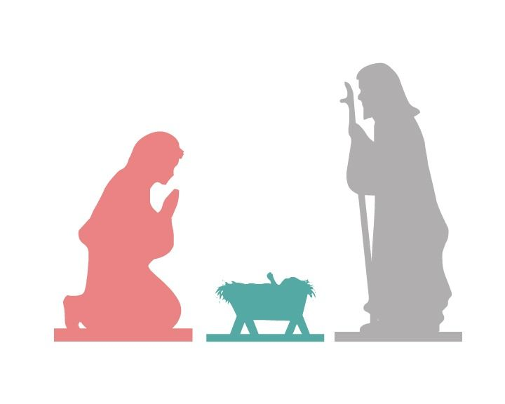 720x576 Nativity Free Printable Free, Free Printable And Holidays