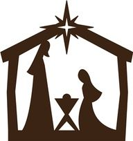 192x204 We Made This Nativity Silhouette For Christmas In Our Sunday