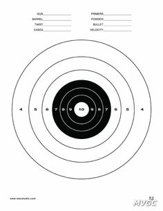 236x305 Rifle Shooting Targets Printable Air Rifle Target Clip Art