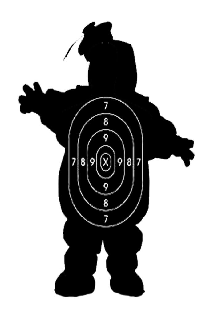 682x1023 37 Best Target Images On Shooting Targets, Silhouettes