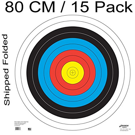 466x466 Archery 40cm Amp 80cm Targets By Longbow Sports