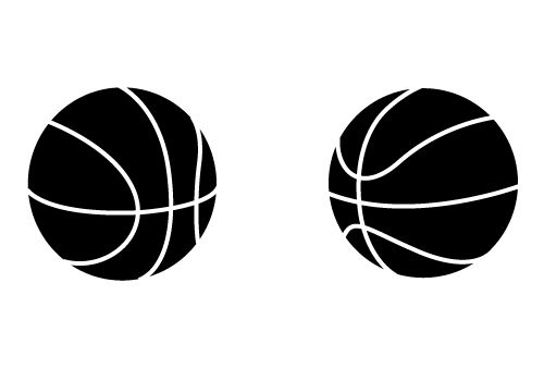 500x350 Two Awesome Free Basketball Vectors For Download Now