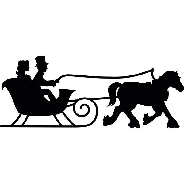600x600 Clipart Sleigh Ride Collection