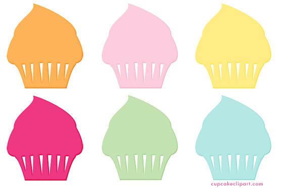 560x373 Cupcake Clipart Silhouette