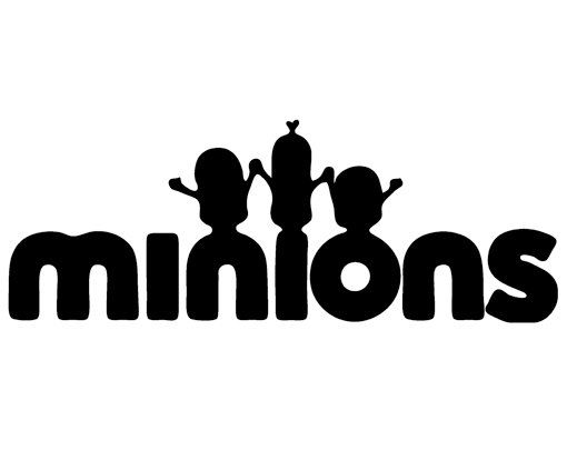 510x405 Minions Silhouette Book Folding Pattern And Free Tutorial