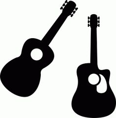 236x241 Free Svg Bass Guitar Silhouette Cricut!!! Guitars