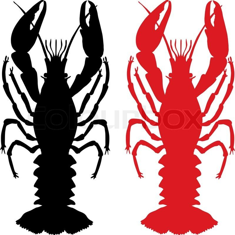 799x800 Free Download Crawfish Silhouette Clipart For Your Creation