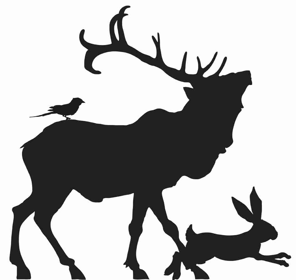 945x896 Stag Silhouette Free Download Clip Art On Best Silhouettes Olegratiy
