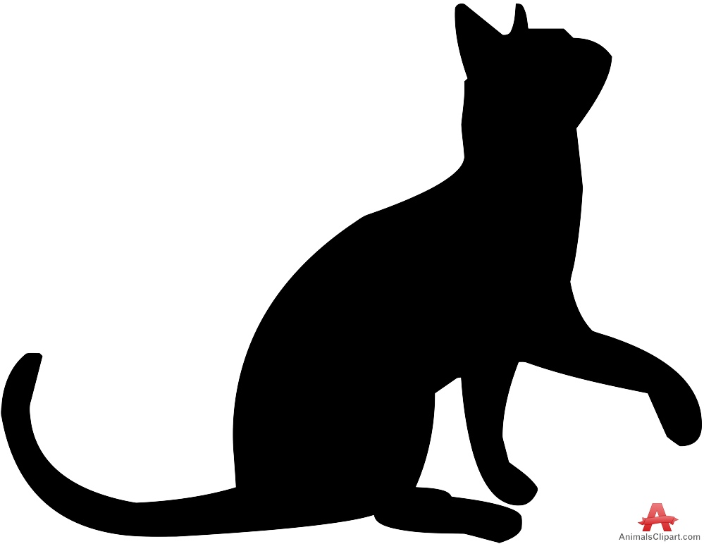 999x772 Cat Looking Up Silhouette Free Clipart Design Download Ideas