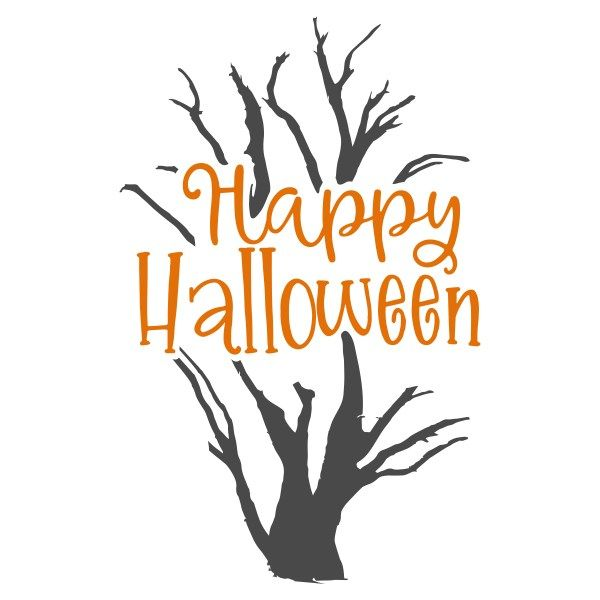 600x600 Free Happy Halloween Svg For Halloween! Comes In Eps, Dxf, Png