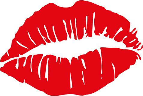 476x318 Woman Lips Silhouette Free Vector Download (7,475 Free Vector)