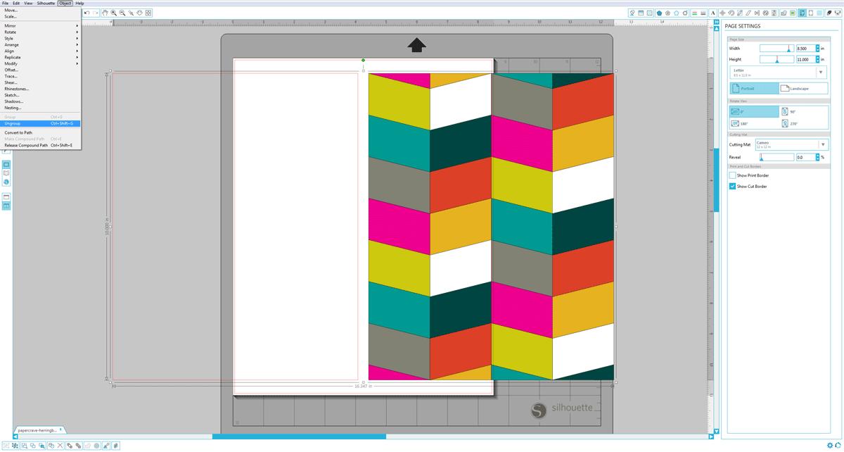 1200x642 Diy Die Cut Wall Art + Free Cut File Templates