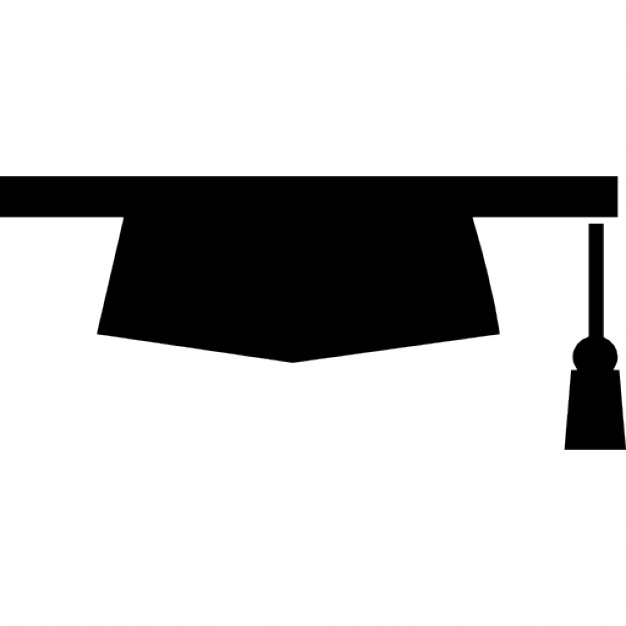 626x626 Graduation Hat Silhouette Variant Icons Free Download