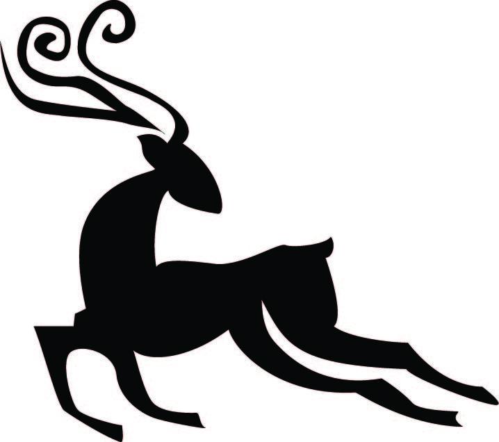 718x636 Kldezign Les Svg Reindeer Cut File C Xmas Deer