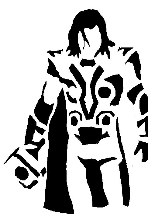 487x733 Thor Clipart Silhouette Many Interesting Cliparts