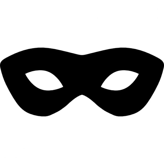 626x626 Carnival Mask Silhouette Icons Free Download