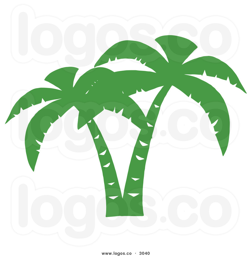 1024x1044 Free Beach Palm Tree Clip Art Royalty Free Vector Of A Double Gree