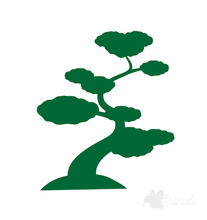 700x743 Free Tree Silhouette Vector
