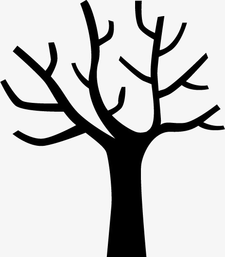 463x527 Tree Silhouette, Black, Trunk Png And Vector For Free Download