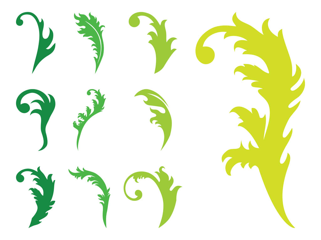 1024x765 Leaves Silhouettes Graphics Vector Art Amp Graphics