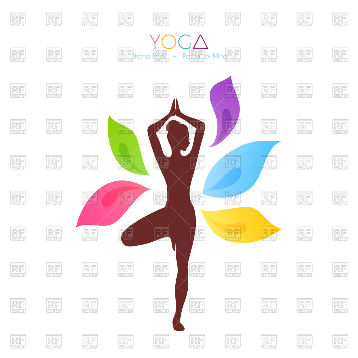 free yoga clipart silhouette at getdrawings com free for personal