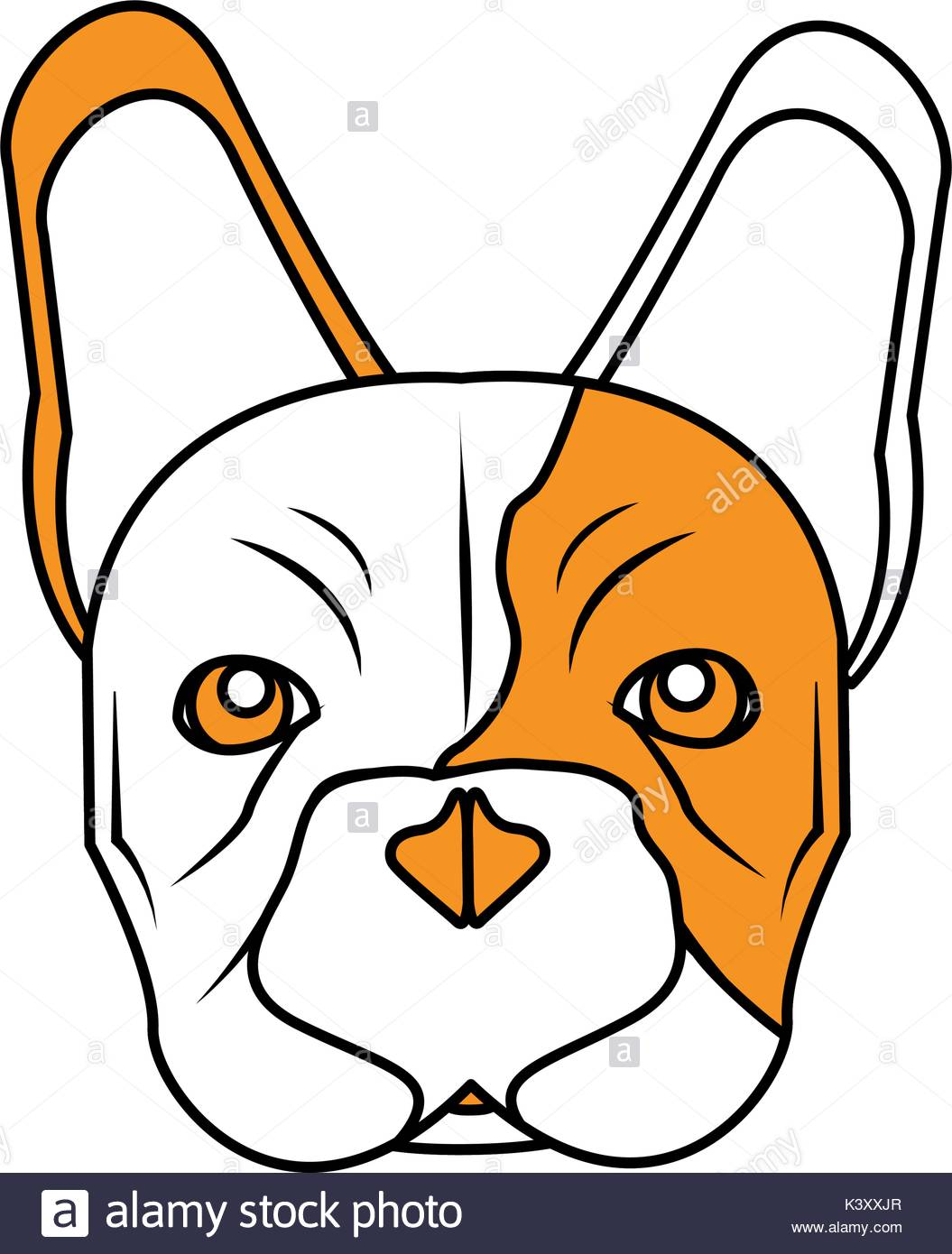 1055x1390 French Bulldog Stock Vector Images