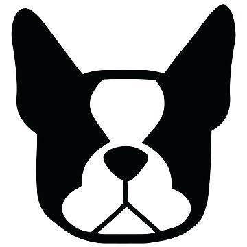 360x360 French Bulldog Silhouette Digitl Downlod French Bulldog Silhouette