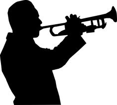 236x212 Silhouette Of A French Horn Illustration Reference Material