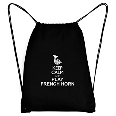 385x385 Teeburon Keep Calm And Play French Horn Silhouette
